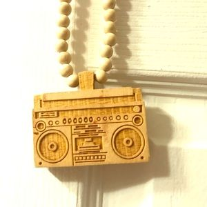 Cassette pendant and necklace